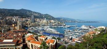 Monaco - Monte Carlo panorama Stock Images