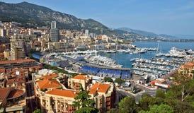 Monaco - Monte Carlo panorama Stock Image