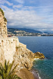 Monaco and Monte Carlo principality. Royalty Free Stock Images