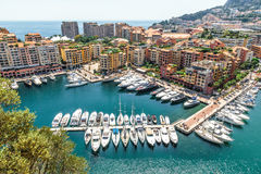 Monaco Monte Carlo sea view Royalty Free Stock Photo
