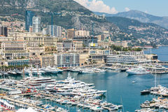 Monaco Monte Carlo sea view Stock Image