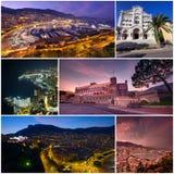 Monaco Monte - carlo uppsättning Royaltyfri Fotografi