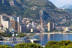 Monaco - Monte-Carlo view Royalty Free Stock Images