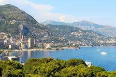 Monaco - Monte-Carlo view Stock Image