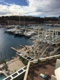 Monaco monte, Carlo widok, - zdjęcie royalty free