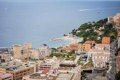 Monaco Montecarlo principality aerial view cityscape Royalty Free Stock Photography
