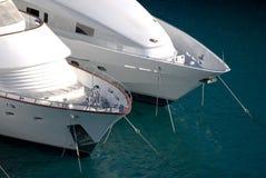 monaco motorboat royaltyfria bilder