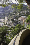 Monaco Mountainside Stock Photography