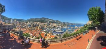 Monaco/Nice Royalty Free Stock Photo