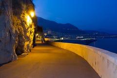 Monaco at night Royalty Free Stock Photos