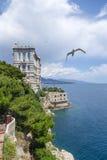 Monaco. Oceanografiskt museum Royaltyfria Foton