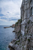 Monaco. Oceanografiskt museum Royaltyfri Fotografi