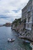 Monaco. Oceanografiskt museum Arkivbilder