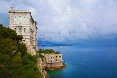 Monaco, Oceanographic Institute museum in Monaco. Cousteau Royalty Free Stock Photography