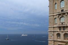 Monaco Oceanographic Museum Royalty Free Stock Image