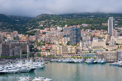 Free Monaco On A Cloudy Day Royalty Free Stock Images - 27260969