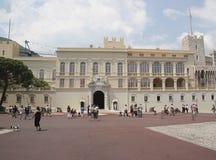 Monaco pałac Zdjęcia Royalty Free