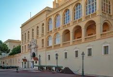 Monaco pałac królewski w Monte, Carlo - Obrazy Stock