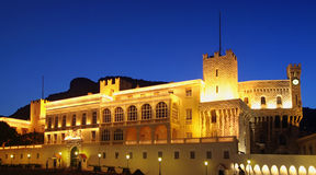 Monaco palace Royalty Free Stock Photo
