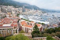Monaco - panorama Royaltyfri Foto