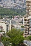 monaco panorama- sikt Royaltyfri Fotografi
