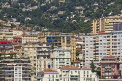 monaco panorama- sikt Royaltyfri Foto