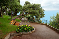 Monaco - Park in Principality of Monaco. Stock Photography