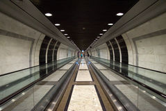 Monaco - Pedestrian tunnel Stock Photo
