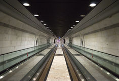 Monaco - Pedestrian tunnel Royalty Free Stock Photography