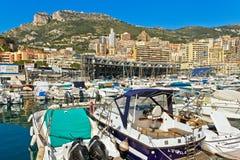 Monaco pier. Stock Images
