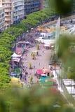 Monaco portside Arkivfoton