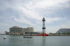 Monaco portu Hercule Marina Piękni jachty są w Monaco obrazy royalty free