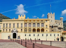 Monaco - Prince's Palace Royalty Free Stock Photo