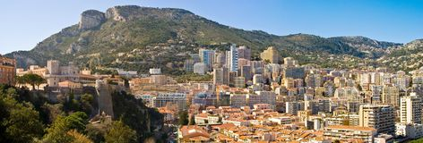 Monaco Prince Slott fotografering för bildbyråer