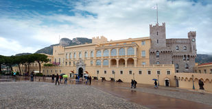Monaco - Princes Palace Royalty Free Stock Images