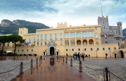 Monaco - Princes Palace Stock Photo