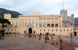 Monaco - Princes Palace Stock Images