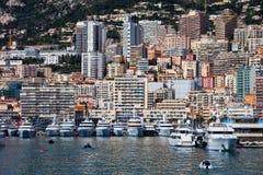 Monaco Principality Urban Landscape Royalty Free Stock Images