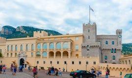 Monaco prinsens slott Royaltyfria Foton