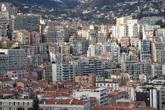 Monaco real estate Royalty Free Stock Photo