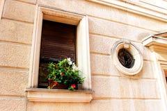Monaco rosa färggata Royaltyfri Fotografi