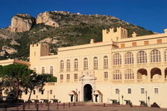 Monaco Royal Palace Royalty Free Stock Photo