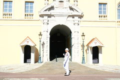 Monaco Royal Palace guard Stock Photography