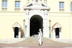Monaco Royal Palace guard Stock Photography