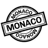 Monaco rubber stamp Royalty Free Stock Photography