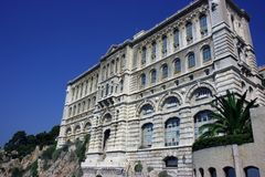 Monaco's Oceanographic Museum Royalty Free Stock Photography