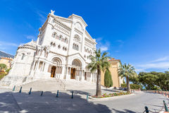 Monaco Saint Nicholas Cathedral Stock Photography