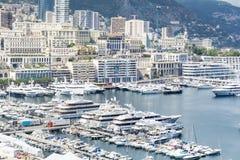 Monaco  sea port  view Royalty Free Stock Photo