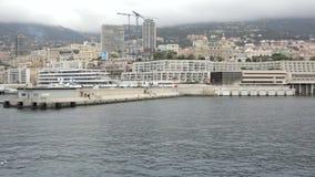 Monaco skeppsdocka lager videofilmer