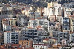 Monaco skycrapers Stock Image